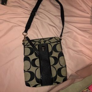 Authentic COACH crossbody purse